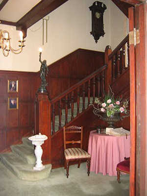 The House staircase