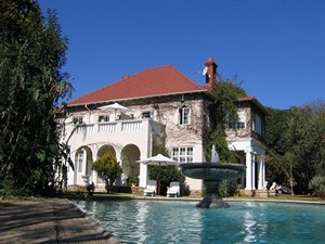 Main House from the Swimming Pool
